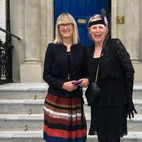 picture of doras bui service users at the mansion house