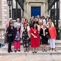 doras bui staff and service users with the mayor at the mansion house